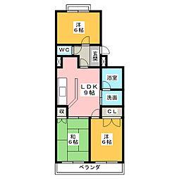 X−V[2階]の間取り