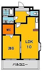 ポワールガーデン2[2階]の間取り