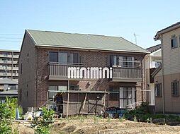 愛知県名古屋市中川区戸田西1の賃貸アパートの外観