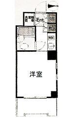 ライオンズマンション横浜反町[3階]の間取り