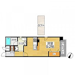 TKアンバーコート宿院[10階]の間取り