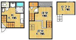 Grato梅光園[1階]の間取り