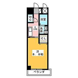 プチラパン[3階]の間取り