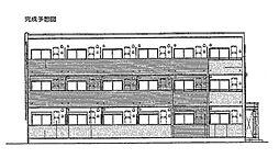 ラピュタテラスA[3階]の外観