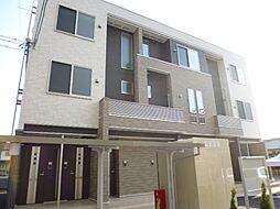 岡山県倉敷市老松町3丁目の賃貸アパートの外観