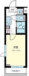 東京都中野区弥生町6丁目の賃貸マンションの間取り
