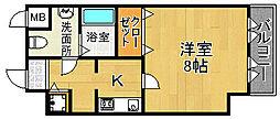 メゾンパティオ2[2階]の間取り