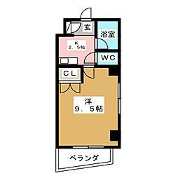 プライムエステート小松島[2階]の間取り