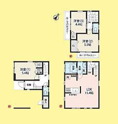 新築 さいたま市南区大谷場1丁目3期 全2棟(南西角地)