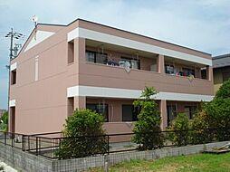 愛知県一宮市島村字江向の賃貸アパートの外観