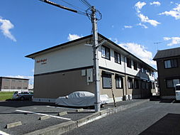 滋賀県大津市月輪3丁目の賃貸アパートの外観