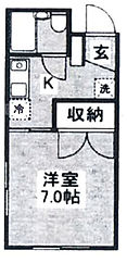 シンコー第二ビル[2階]の間取り