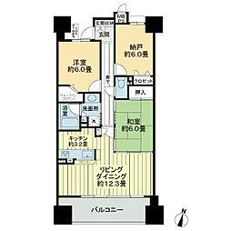 ライオンズマンション金山ニューシティ[14階]の間取り
