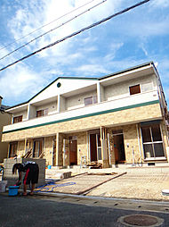 パレット神松寺[102号室]の外観