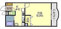 パークサイドテラス泉中央[203号室]の間取り