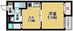 ハイツシード3階Fの間取り画像
