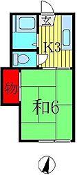 メゾン・ド・イズミ[2階]の間取り