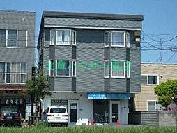 北海道札幌市東区北十五条東12丁目の賃貸アパートの外観