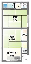 [テラスハウス] 大阪府寝屋川市御幸東町 の賃貸【/】の間取り