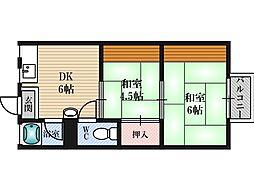 南吹田駅 4.8万円