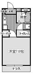 シュアハイツ湘南台[102号室]の間取り