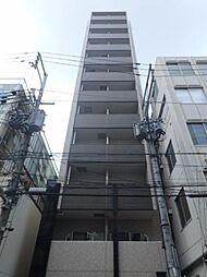大阪府大阪市中央区南新町2丁目の賃貸マンションの外観