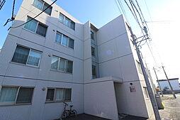 北海道札幌市北区新琴似6条1丁目の賃貸マンションの外観