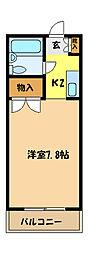 埼玉県さいたま市中央区本町東5丁目の賃貸マンションの間取り
