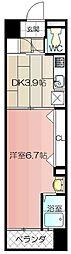 No.47PROJECT2100小倉駅[12階]の間取り