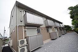 栃木県宇都宮市上戸祭町の賃貸アパートの外観