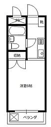 レスポワールK[2階]の間取り