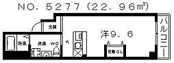 SQUARE(スクエア)[2階]の間取り