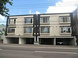 北海道札幌市東区伏古八条4丁目の賃貸アパートの外観