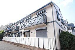 埼玉県越谷市花田2丁目の賃貸アパートの外観