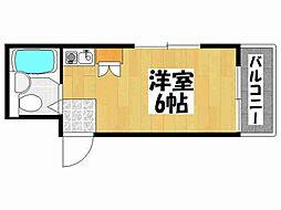 兵庫県神戸市垂水区本多聞3丁目の賃貸マンションの間取り
