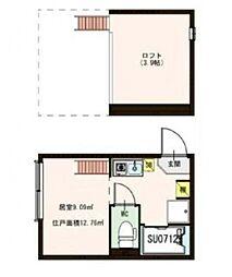 サヴォイ赤羽[1階]の間取り