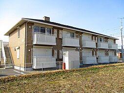 千葉県木更津市ほたる野2の賃貸アパートの外観
