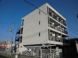 大阪府貝塚市半田の賃貸マンションの外観