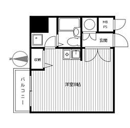 プライム横浜[2階]の間取り