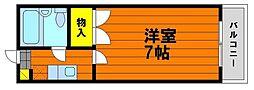 デュナミス笹ヶ瀬[5階]の間取り