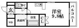アッシュコート夙川公園[5階]の間取り