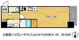 エスディグランツ新神戸[3階]の間取り