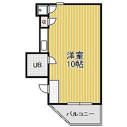 愛知県名古屋市中川区打中1の賃貸マンションの間取り