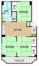大窄ビル[405号室]の間取り