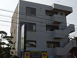 神奈川県茅ヶ崎市ひばりが丘の賃貸マンションの外観