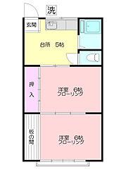 イナハウス[2階]の間取り