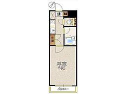 サクセスビル[3階]の間取り