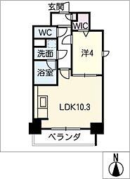 ルノンドーム A[4階]の間取り