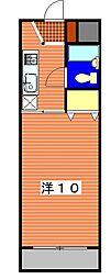 埼玉県蓮田市馬込3丁目の賃貸マンションの間取り
