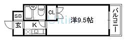 ハイツ紅屋[4階]の間取り